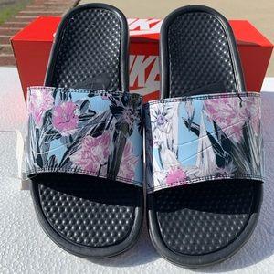 Nike kawa printed slides